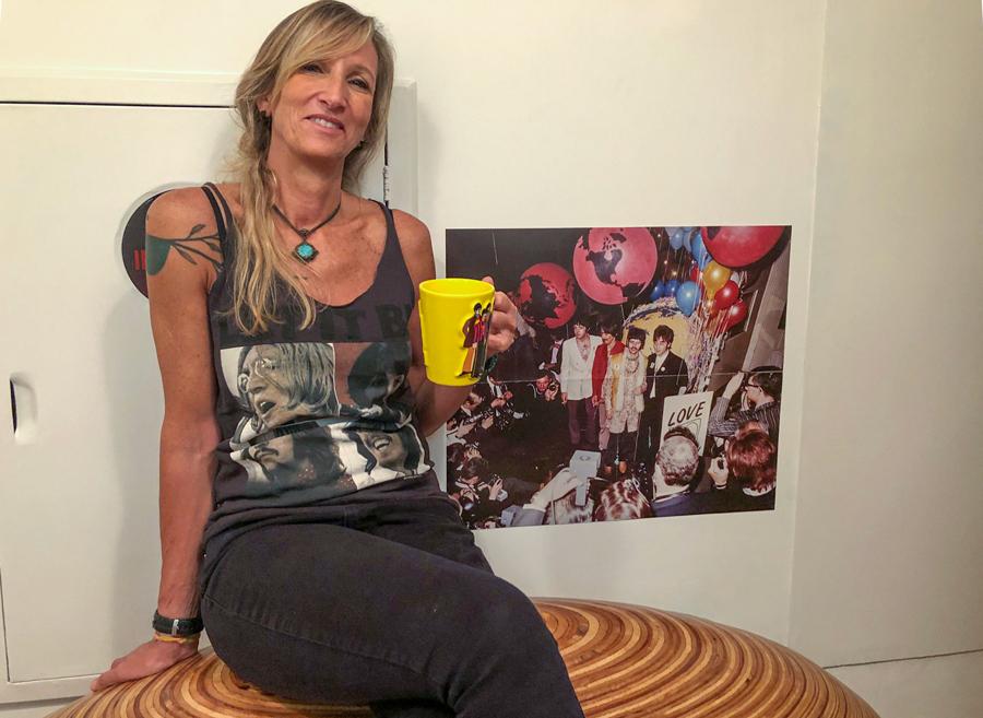 Julia Krantz e Beatles