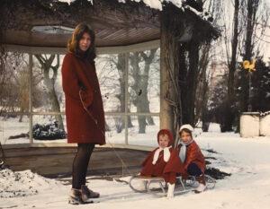 Infância família Krantz